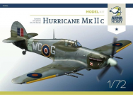 Hurricane Mk IIc Model Kit - 1:72e - Arma Hobby - 70036