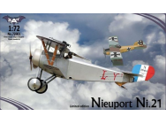 Nieuport Ni.21, France - 1:72e - BAT Project - BAT72001