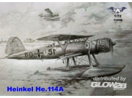 Heinkel He 114A floatplane - 1:72e - BAT Project - BAT72008