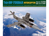 Yak-28P Firebar Interceptor Soviet Mediu Jet Interceptor- 1:48e - Bobcat Hobby Model Kits - 48001