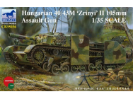 Hungarian 40/43M Zrinyi II 105mm Assault Gun- 1:35e - Bronco Models - CB35036