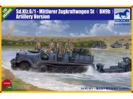 Sd.kfz 6 5(t) Typ BN9 Artillery Version - 1:35e - Bronco Models - CB35044