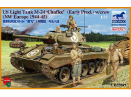 US Light Tank M-24 Chaffee (WWII Prod.) - 1:35e - Bronco Models - CB35069