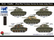 M-24 Chaffee(Post-War Version) Service In Asia Army force- 1:35e - Bronco Models - CB35072