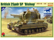 Valentine SPG Bishop - 1:35e - Bronco Models - CB35077
