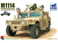 M1114 Up-Armored Tactical Vehicle - 1:35e - Bronco Models - CB35080