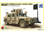 M1114 Up-Armoured HA(heavy)Tactical Vehi - 1:35e - Bronco Models - CB35092
