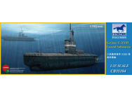 German U-XXIII Coastal Submarin - 1:35e - Bronco Models - CB35104