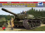 Russian Self-Propelled Gun SU-152(KV-14) -September 1943 Produktion-- 1:35e - Bronco Models - CB35109