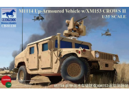 M1114 Up-Armoured Vehicle w/XM153CrowsII - 1:35e - Bronco Models - CB35136