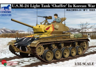 US Light Tank Chaffee in Korean War - 1:35e - Bronco Models - CB35139