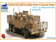 BUFFALO 6x6 MPCV w/Slat Armor & Spaced Armor Version- 1:35e - Bronco Models - CB35145
