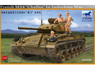 French M24 Chaffee in Indochina War - 1:35e - Bronco Models - CB35166
