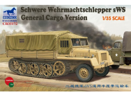 German sWs Tractor Cargo Version - 1:35e - Bronco Models - CB35172