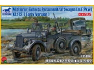 Mittlerer Einheits Personenkraftwagen (m.E.pkw) Kfz12 (Early Version)- 1:35e - Bronco Models - CB35175