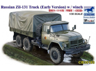 Russian Zil-131 Truck (Early Version) w/winch- 1:35e - Bronco Models - CB35193