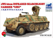 sWS 60cm Infrared Searchlight CarrierUHU - 1:35e - Bronco Models - CB35212
