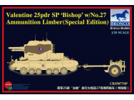 Valentine SPG Bishop w/No.27 Limber - 1:35e - Bronco Models - CB35077SP