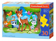 A Deer and Friends, Puzzle 30 Teile - e - Castorland - B-03570-1