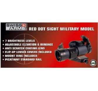 Visee point rouge Type Military red hot - AIS-263867
