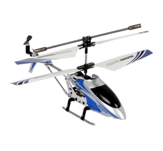 Helicoptere SYMA S105G 3 canaux avec Gyro (Bleu) - SYM-S105G