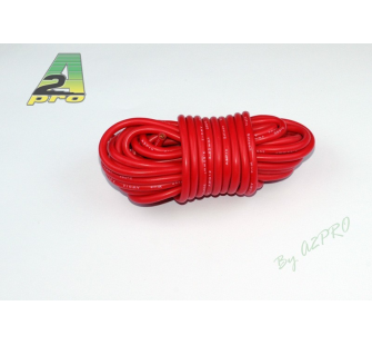 Fil silicone AWG12 - 3,58mm² rouge A2PRO - A2P-17121