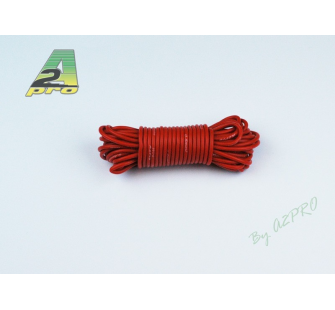 Fil silicone AWG20 - 0,5mm² rouge A2PRO - A2P-17201