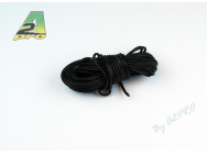 Fil silicone AWG20 - 0,5mm² noir A2PRO - A2P-17202