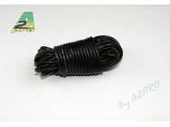 Fil silicone AWG18 - 0,81mm² noir A2PRO - A2P-17182
