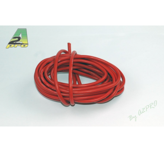 Fil silicone AWG8-6.03² Rouge (5m) A2PRO - A2P-17081