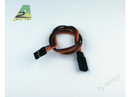 Rallonge 25cm JR - cable 0,30mm² A2PRO - A2P-13025