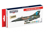 Red Line Set (8 pcs) Falklands Conflict paint set vol. 1 - e - HATAKA - HTK-AS27