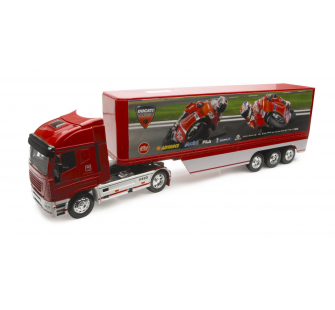 CAMION REMORQ. 2009 IVECO STRALIS DUCATI MOTO GP 1-32° - NRY-10343