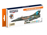 Orange Line Set(8 pcs) Falklands Conflict paint set vol. 1 - e - HATAKA - HTK-CS27