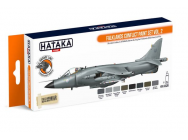 Orange Line Set(8 pcs) Falklands Conflict paint set vol. 2 - e - HATAKA - HTK-CS28