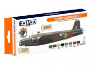 Orange Line Set(8 pcs) RAF Bomber Command paint set - e - HATAKA - HTK-CS102