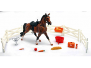 COFFRET MY FAVORITE HORSE 1 CHEVAL   + ACCESOIRES 4 ASSORTIS  - NRY-37705