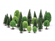Skale Scenics Hobby  Mixed (Deciduous and Fir) Trees - e - Humbrol - R7201