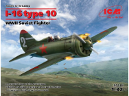 I-16 type 10, WWII Soviet Fighter - 1:32e - ICM - 32004