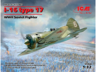 I-16 type 17, WWII Soviet Fighter - 1:32e - ICM - 32005