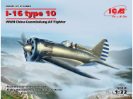I-16 type 10, WWII China Guomindang AF Fighter- 1:32e - ICM - 32006