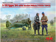 I-16 type 24 with Soviet Pilots(1939-42) Limited- 1:32e - ICM - 32007