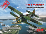 I-153,WWII Soviet Fighter(100% new molds - 1:32e - ICM - 32010