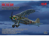 CR. 42 LW , WWII German Luftwaffe Ground Attack Aircraft - 1:32e - ICM - 32021