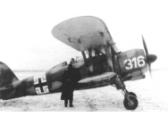 CR. 42 LW with German Pilots - 1:32e - ICM - 32022
