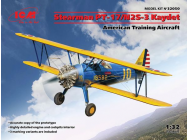 Stearman PT-17/N2S-3 Kaydet , American Training Aircraft - 1:32e - ICM - 32050