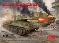 Battle of Berlin (April 1945) (T-34-85, King Tiger) - 1:35e - ICM - DS3506