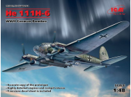 He 111H-6, WWII German Bomber - 1:48e - ICM - 48262