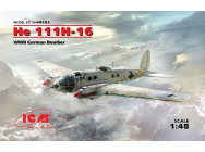 He 111H-16, WWII German Bomber - 1:48e - ICM - 48263