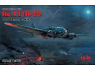 He 111H-20, WWII German Bomber - 1:48e - ICM - 48264
